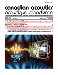 Canadian Acoustis June 2016