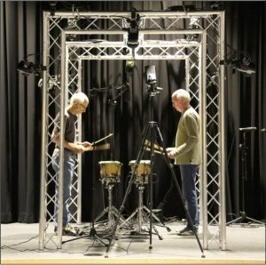 Steve Reich Drumming performed by Dr. Russell Hartenberger and Bob Becker